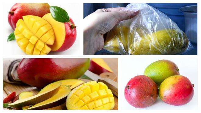 Способы хранения манго