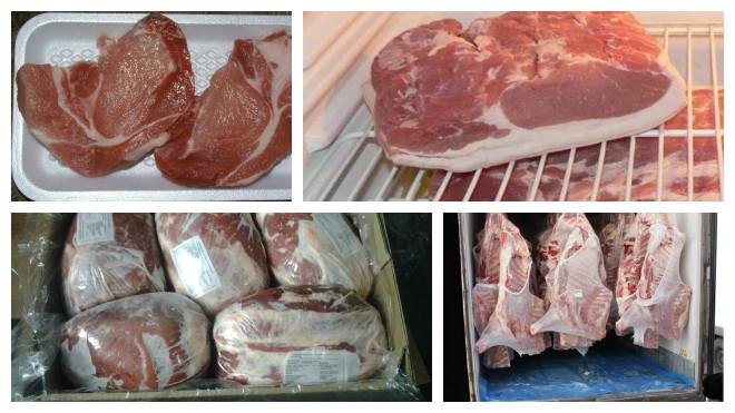 Условия хранения мяса