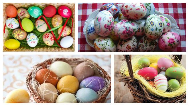 Сколько можно хранить пасхальные яйца