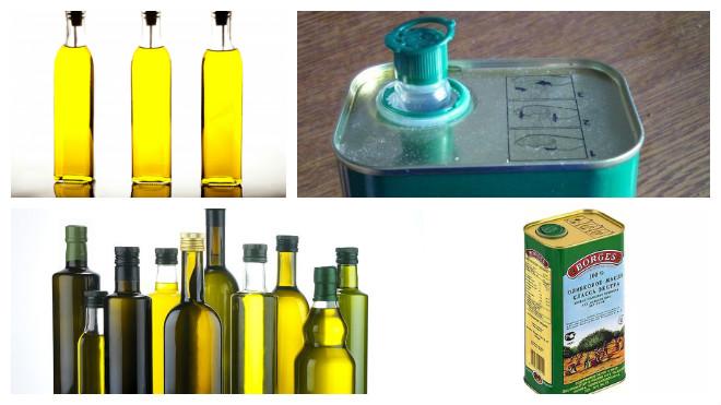 Тара для хранения оливкового масла