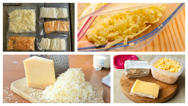 заморозка сыра