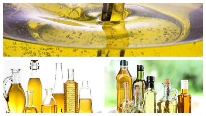 Виды подсолнечного масла