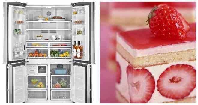 торты в холодильнике