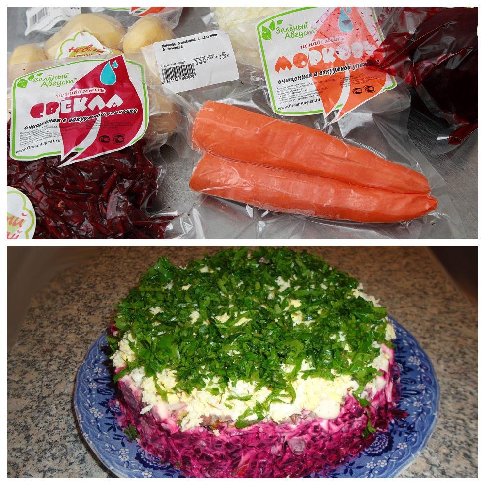 Определяем, сколько хранятся вареные овощи в холодильнике