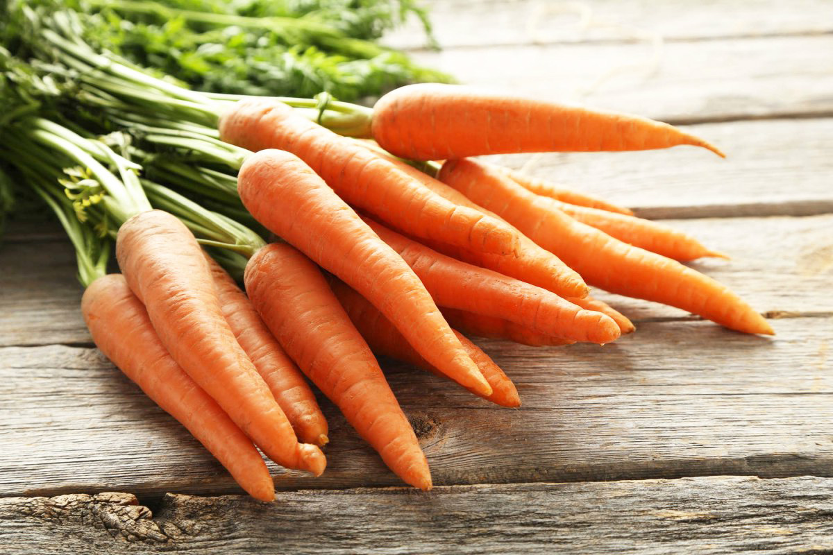 Морковь дома