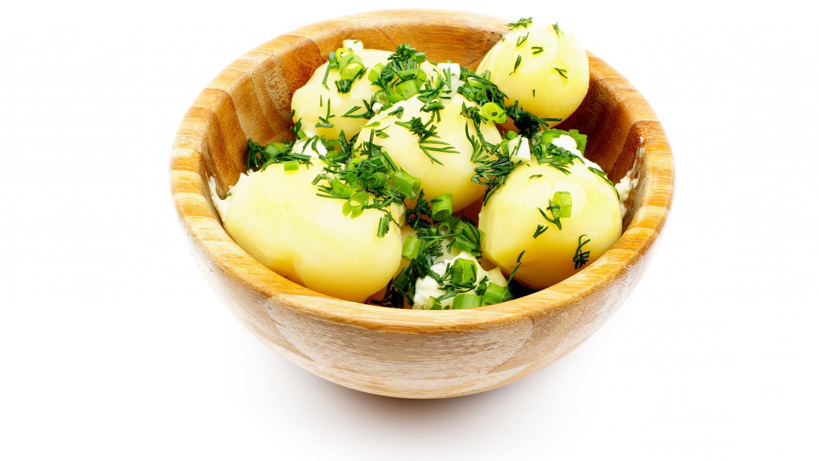 Хранение вареной картошки