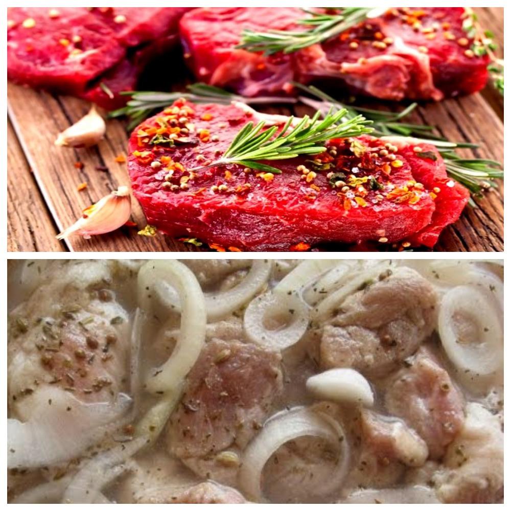 Как хранится маринованное мясо в холодильнике