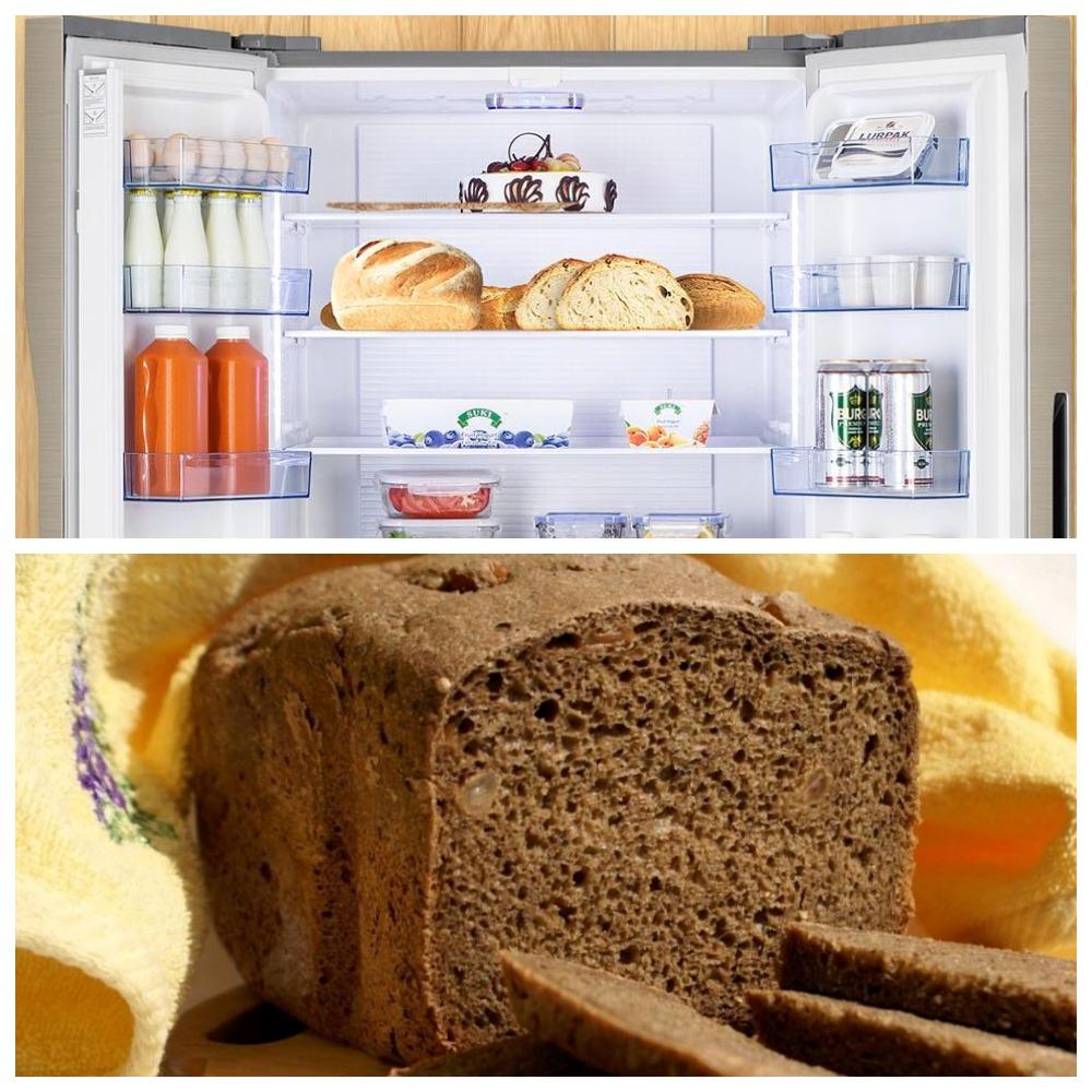 Разбираемся, можно ли хранить хлеб в холодильнике
