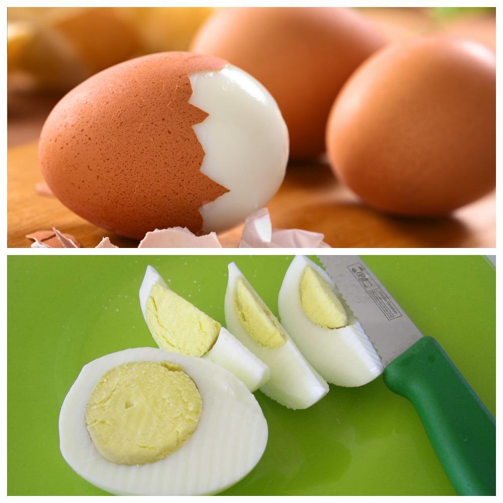 Как хранить вареные яйца
