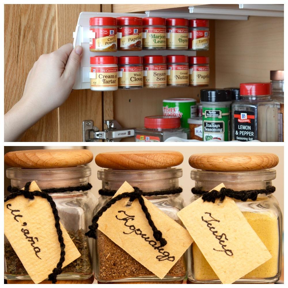 Правильное хранение специй на кухне