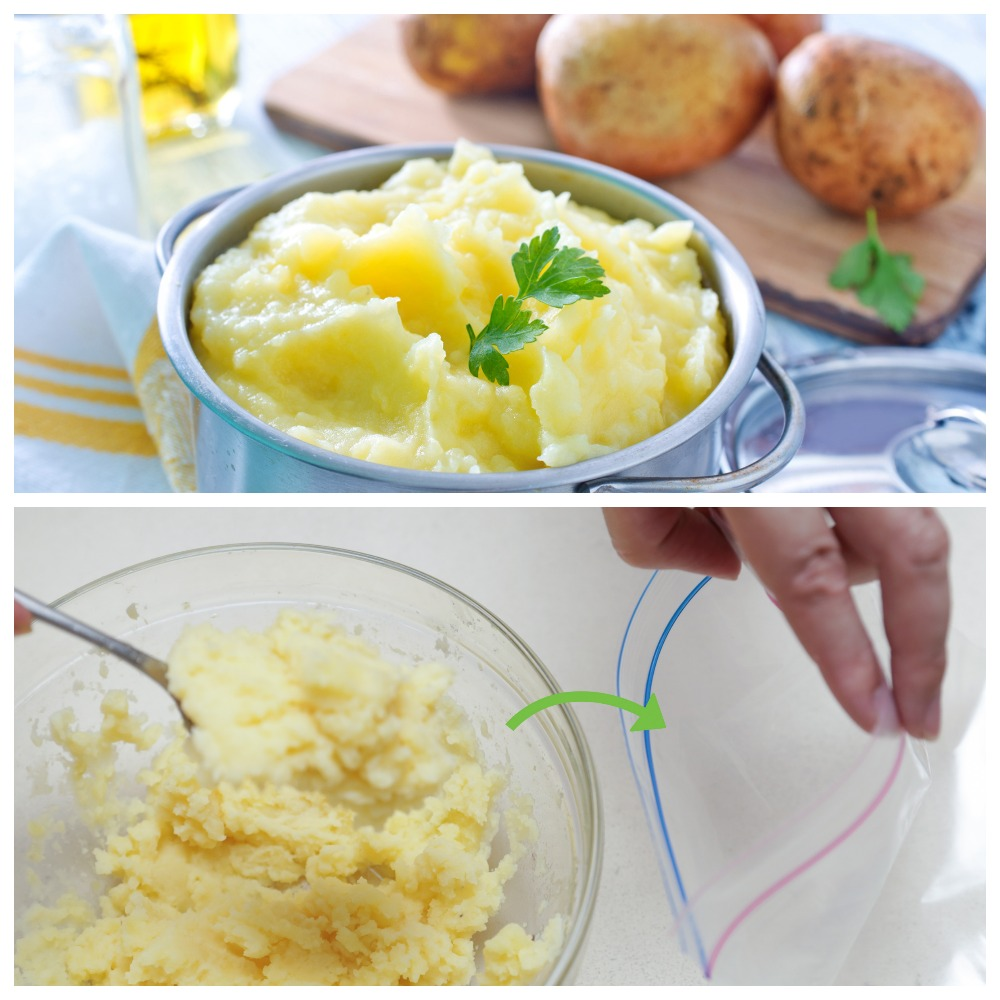 Сколько храниться пюре из картофеля