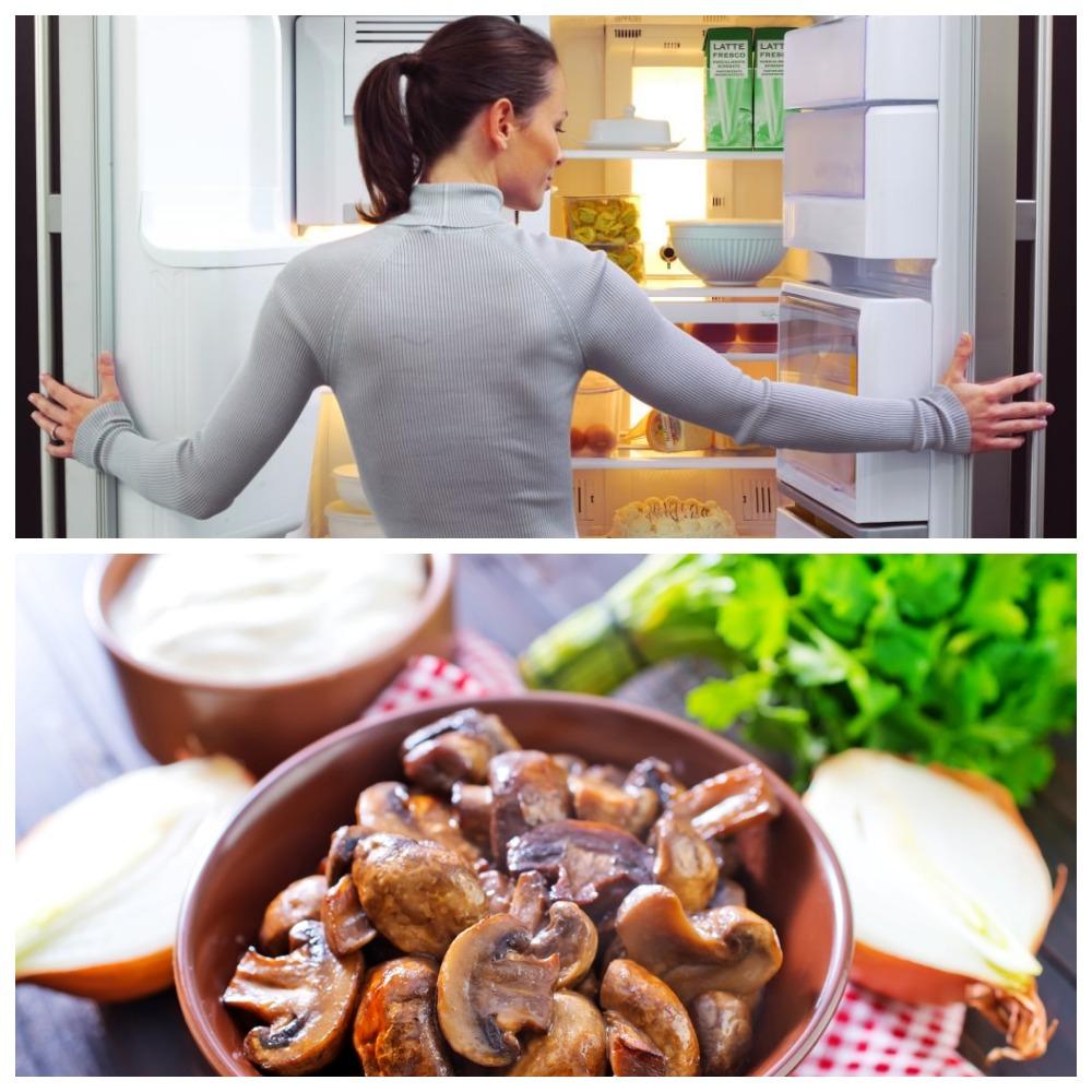 Сколько хранятся в холодильнике жареные грибы
