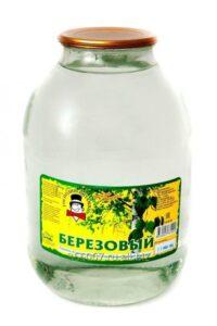 Магазинный сок березовый