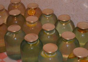 Заготовака в банки березовый сок