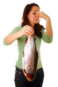 Рыба протухла