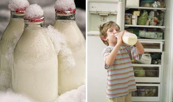Замороженое молоко
